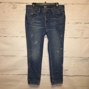 UO BDG Distressed Slim Boyfriend Jeans